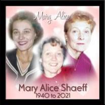 Mary Alice Shaeff