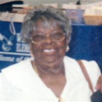 Mrs. Tena Butterfield Adams