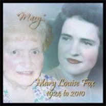 mary louise fox