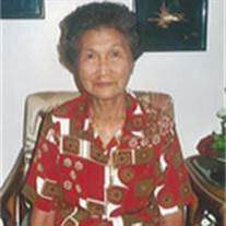 Feliciana Bautista Yaranon