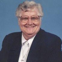 Sister Christine Kelly SSJ