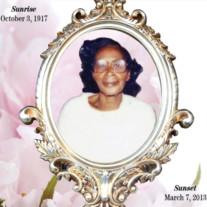 Mamie Cherry White