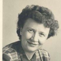 Miss Anna Gertrude Carey